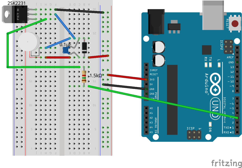 Devel/電子工作/Arduino/PaxPowerGlove_en - cubic9 com